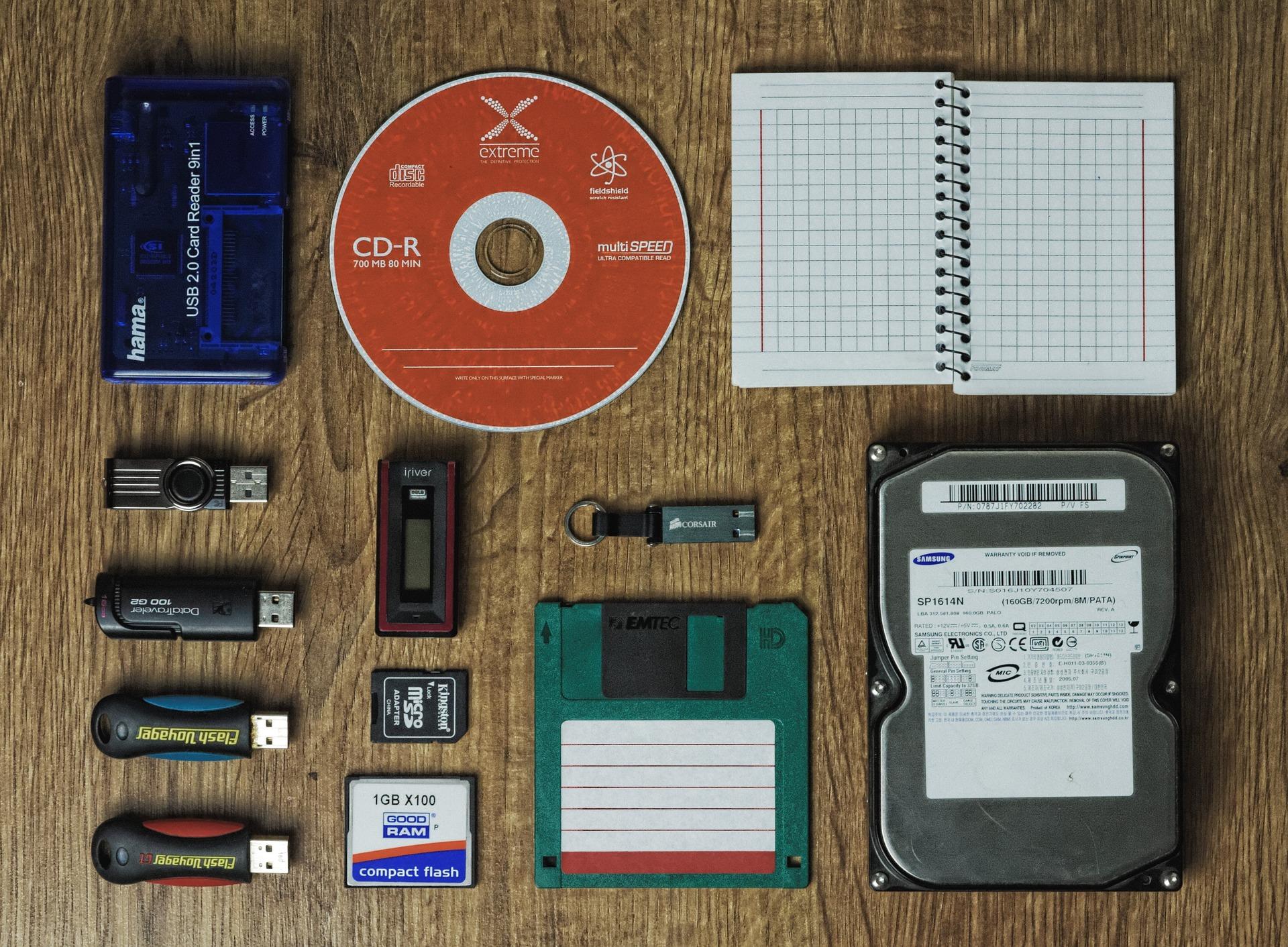 Dispositivi di memorizzazione per il backup