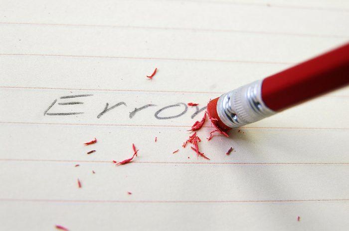 Correggere gli errori con un clic.