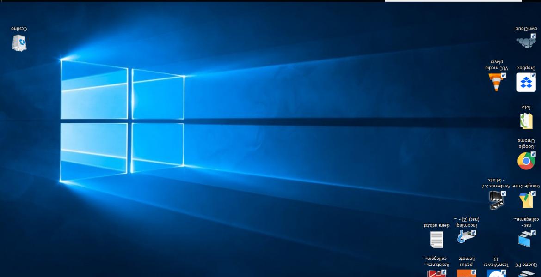 Come girare lo schermo del computer
